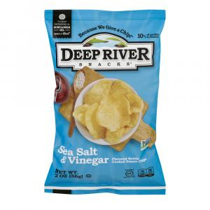 Deep River Salt & Vinegar Kettle Chips