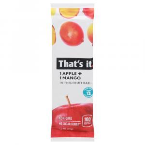 That's It Apple & Mango Fruit Bar