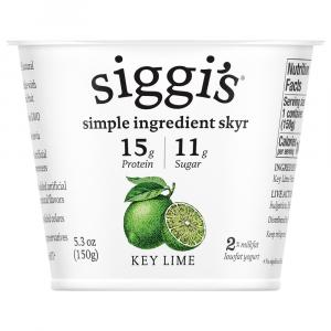 Siggi's Icelandic Skyr Key Lime 2% Yogurt