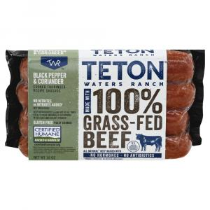 Teton Waters Grass Fed Thuringer Sausage