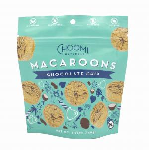 Choomi Coconut Macaroons - Chocolate Chips & Sunflower Seeds