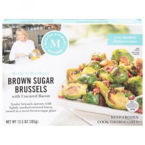 Martha Stewart Kitchen Brown Sugar Brussel W/ Uncured Bacon