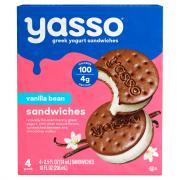 Yasso Vanilla Bean Sandwiches
