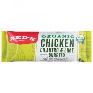 Red's Chicken, Cilantro & Lime Burrito