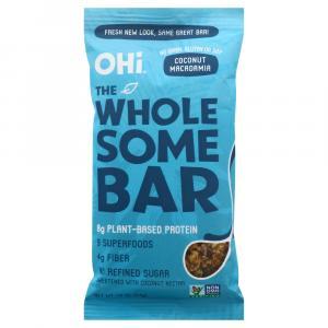 OHI Coconut Macadamia Bar