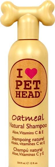 Pet Head Oatmeal Natural Shampoo Aloe, Vitamins C And E