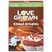 Love Grown Wheat Free Chocolate Comet Crispies