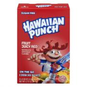 Hawaiian Punch Sugar Free Fruit Juicy Red Drink Mix