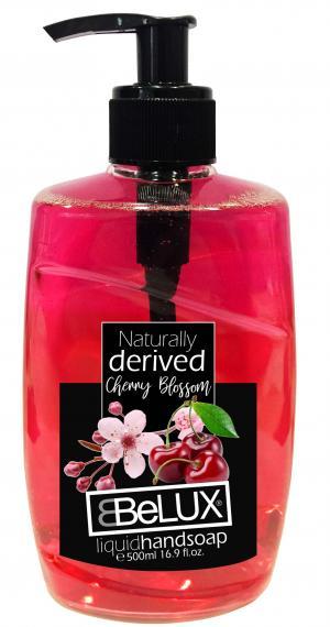 Belux Liquid Hand Soap Pump Cherry Blossom
