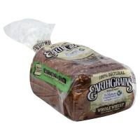 Earthgrains 100% Natural Stone Ground Wheat Bread