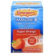 Emergen-C Plus Dietary Supplement Super Orange