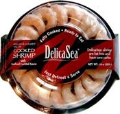 Delicasea Cooked And Peeled Cocktail Shrimp Ring
