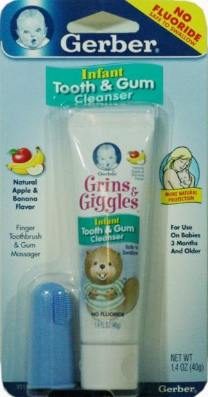 Gerber Infant Tooth & Gum Cleanser