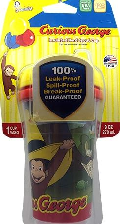Gerber Curious George Sipping Spout Cup