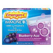 Emergen-C Plus Immune Supplement Blueberry Acai