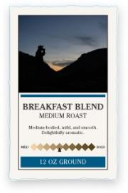 Katahdin Breakfast Blend Ground Coffee