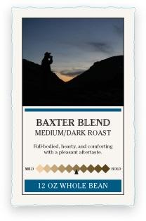 Katahdin Baxter Blend Whole Bean Coffee
