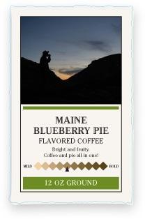 Katahdin Maine Blueberry Ground Coffee