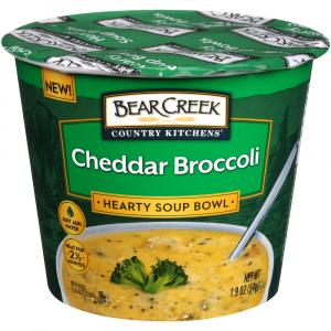 Bear Creek Cheddar Broccoli Hearty Soup Bowl