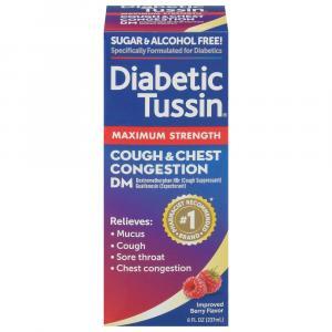 Diabetic Tussin DM Maximum Cough Suppressant & Expectorant