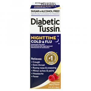 Diabetic Tussin Nitghtime Cold & Flu
