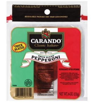 Carando Sliced Pepperoni