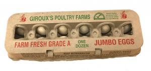 Giroux's Jumbo White Eggs