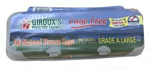 Giroux's Cage Free Omega3 Large Brown