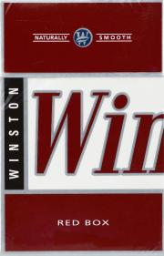 Winston Red Box Cigarettes