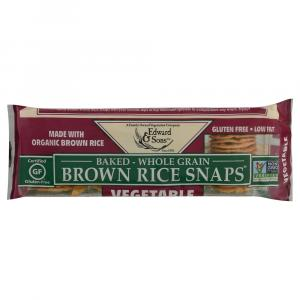Edward & Sons Brown Rice Snaps Vegetable