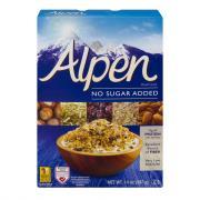 Alpen No Added Sugar or Salt Muesli Cereal