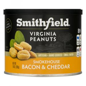 Smithfield Smokehouse Bacon & Cheddar Virginia Peanuts