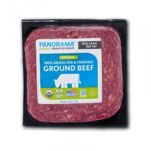 Panorama Organic Grass-Fed Ground Beef 85/15