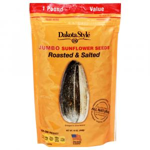 Dakota Style Jumbo Roasted & Salted Sunflower Seeds