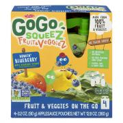 GoGo Squeez Fruit & Veggiez Bowlin' Blueberry