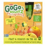 GoGo Squeeze Fruit & Vegetable Apple, Pear, & Carrot