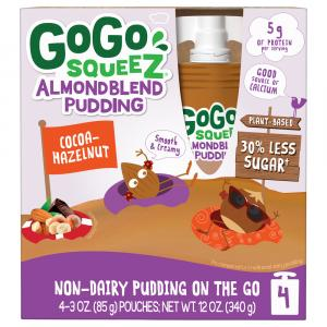 Gogo Squeez Almond Blend Pudding Cocoa-Hazelnut