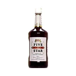 G & W Five Star Whiskey