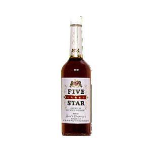 G & W Five Star Whiskey