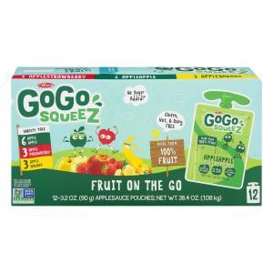 GoGo Squeeze Applesauce Variety