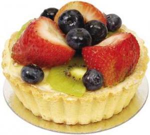 """9"""" Spring Fruit Tart"""