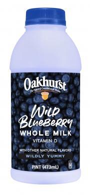 Oakhurst Wild Blueberry Milk