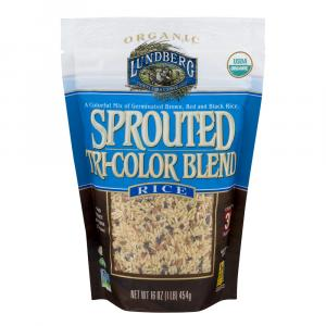 Lundberg Organic Sprouted Tri-color Blend Rice