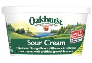 Oakhurst All Natural Sour Cream No Artificial Growth Harmone