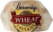 Barowsky's Wheat Bulkie Rolls