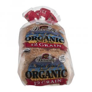 Barowsky's Organic 12 Grain Bread