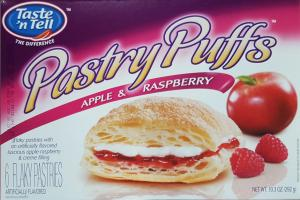 Taste'n Tell Apple & Raspberry Pastry Puffs