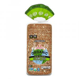 Arnold Organic Thin-Sliced 22 Grains & Seeds Bread