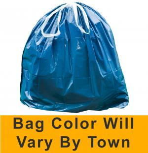 New Hampshire 30-Gallon Large Municipal Trash Bags