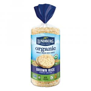 Lundberg Family Farms Organic Lightly Salted Rice Cakes